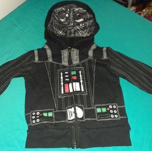12-18m Star Wars Toddler Jacket with Hood Mask